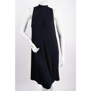 Massimo Dutti Women A-line Dress M Navy Blue Knee
